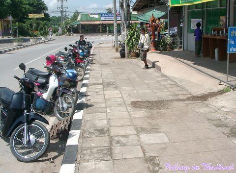 Motorbikes Thailand