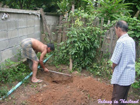 Geisterhaus in Thailand aufstellen