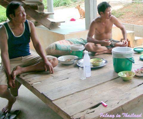 Geisterhaus Thailand Einweihung feiern