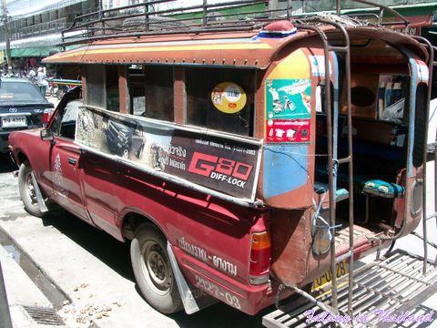 Kleinbus Thailand - Songthaew