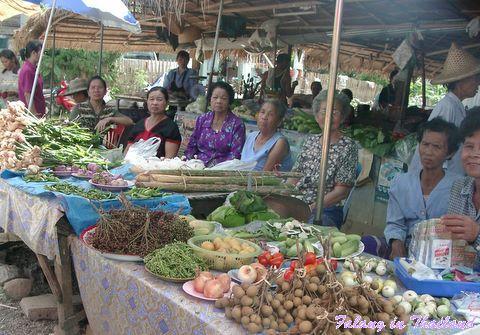 Thailändischer Markt