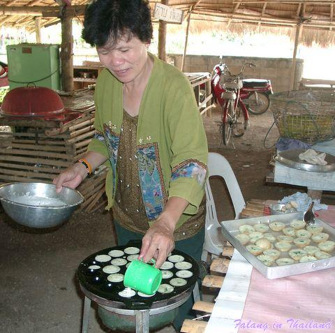 Thailändischer Markt - Leckereien