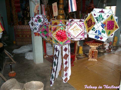 Thailändische Lampions