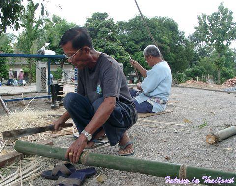 Bambus bearbeiten
