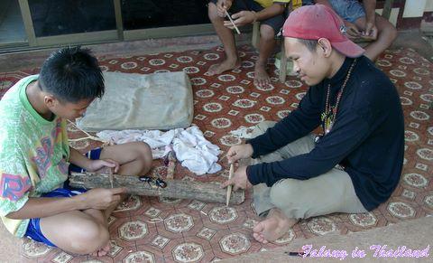 Kaefer kämpfen Thailand