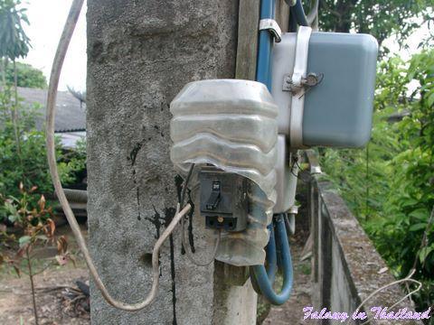 Schalter für Strassenlaterne Thailand
