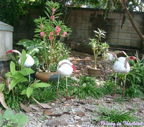 Thailändische Gartenzwerge