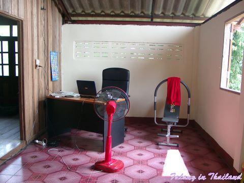 Büro thailändisches Wohnhaus