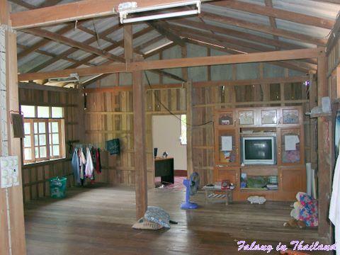 Thailändisches Wohnhaus - Wohnzimmer