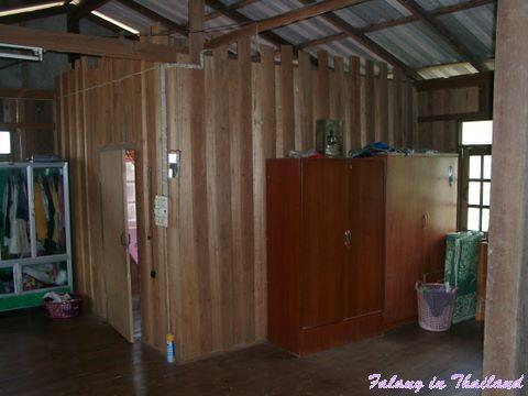 Traditionelles thailändisches Wohnhaus - Schlafzimmer