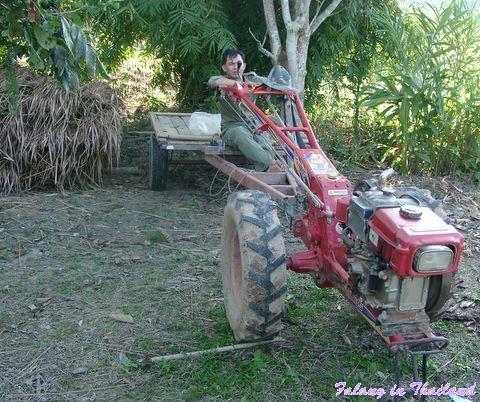 Typischer thailändischer Traktor