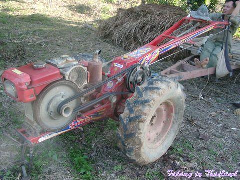 Thailändischer Traktor - Motor