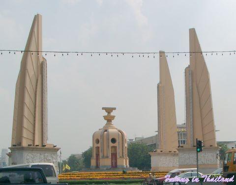 Denkmal Thaländisches Parlament in Bangkok