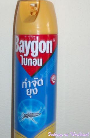 Moskitospray Thailand