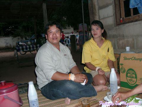 Thailändische Hochzeit - Brautpaar