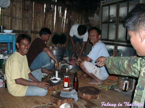 Thailändische Hochzeit - Küche