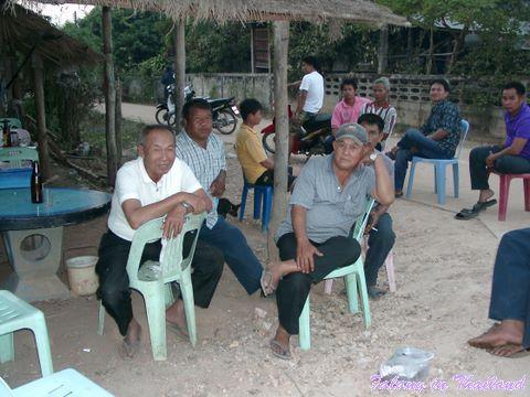 Thailändische Hochzeit - Männer