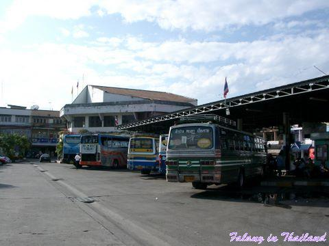 Busbahnhof Chiang Rai