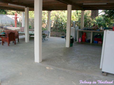 Typisches thailändisches Wohnhaus
