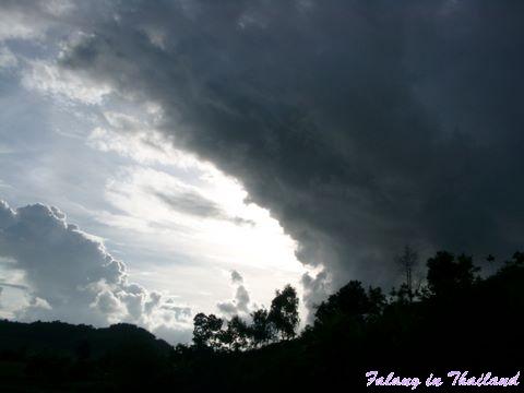 Regenzeit Thailand - Dunkle Wolken