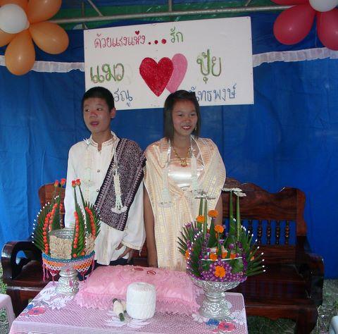 Kinderhochzeit Thailand