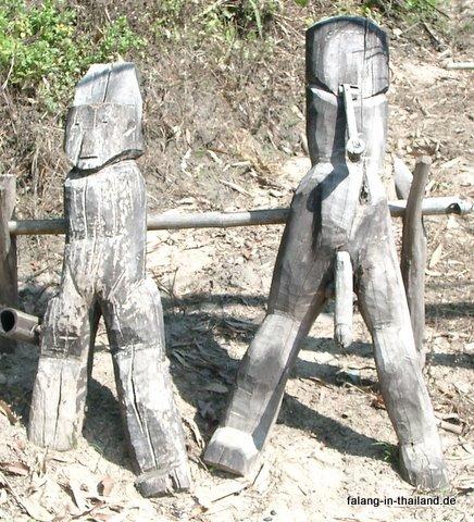 Fruchtbarkeitsfiguren der Akha