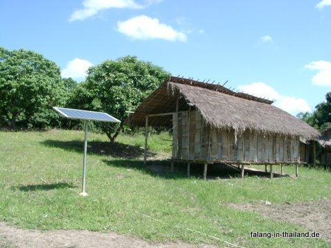 Solarenergie für Akha-Haus